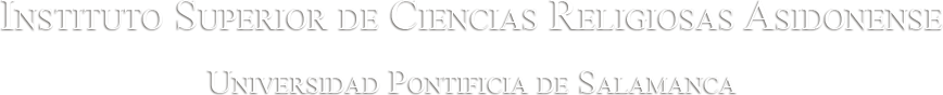Instituto Superior de Ciencias Religiosas Asidonense